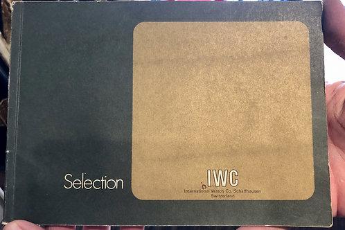 IWC Selection katalog