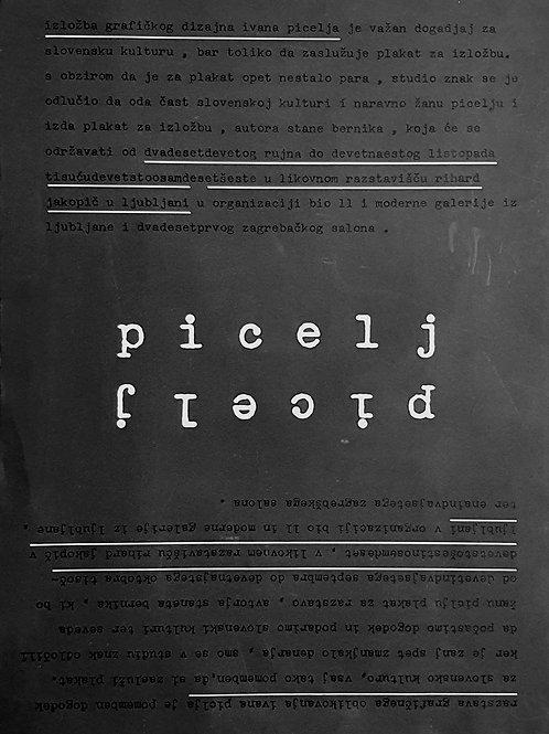 66. Ivan Picelj, Plakat za razstavo