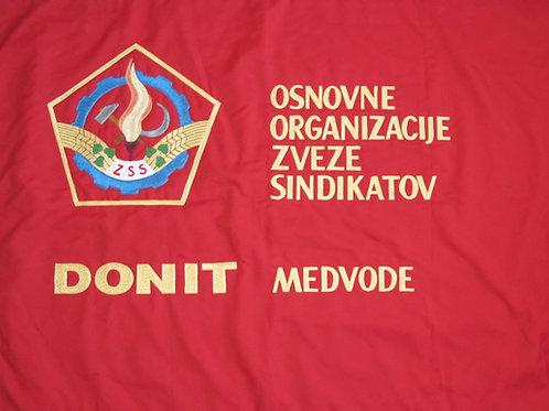 44// Prapor Zveze sindikatov Donit Medvode