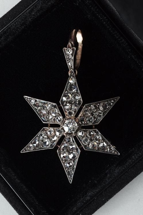 97. Diamantna broška (obesek)
