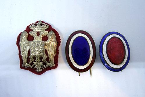 28. Kraljevina Jugoslavija: Tri kokarde za kapo