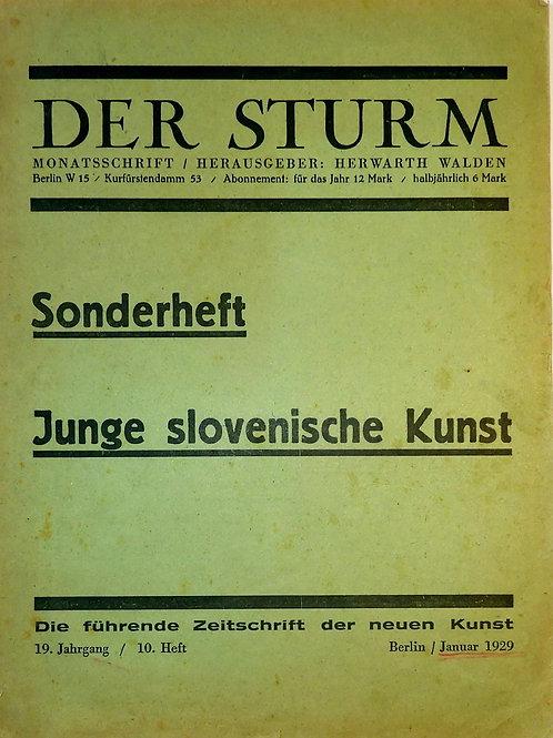 134// Der Sturm – Junge slovenische Kunst.