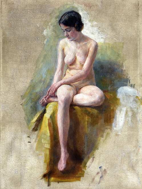 Ivana Kobilca, Ženski akt