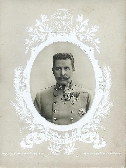 157. Prestolonaslednik nadvojvoda Franc Ferdinand in Sofija Hohenberg