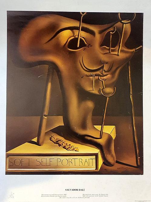 80. Salvador Dali, Soft Selfportrait