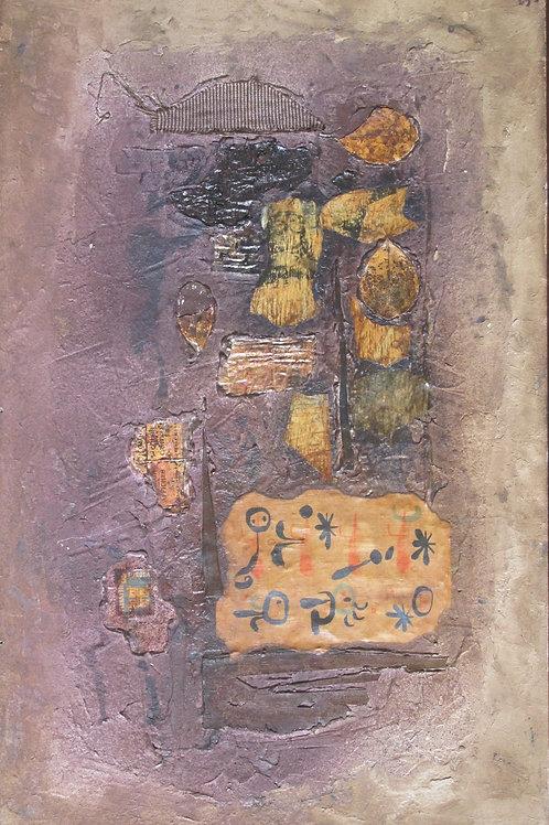 129// Avgust Černigoj:  Colage Foglie