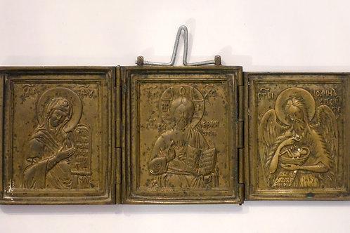 Marija, Kristus in Janez Krstnik
