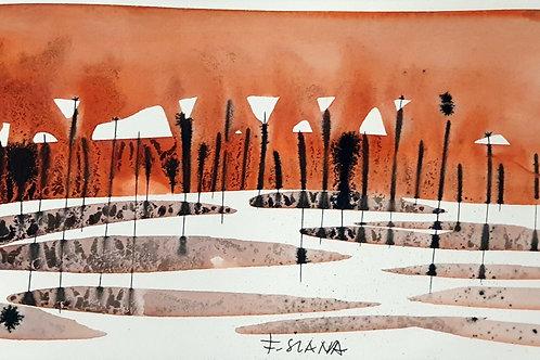 France Slana: Planjava v oranžnem