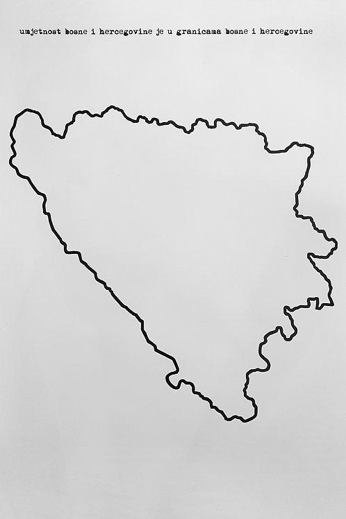 44. Umjetnost Bosne i Hercegovine je u granicama Bosne i Hercegovine