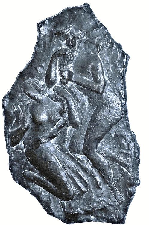 Frančišek Smerdu, relief