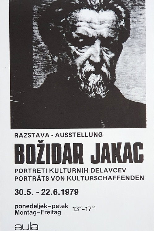 102.  Razstava / Ausstellung Božidar Jakac