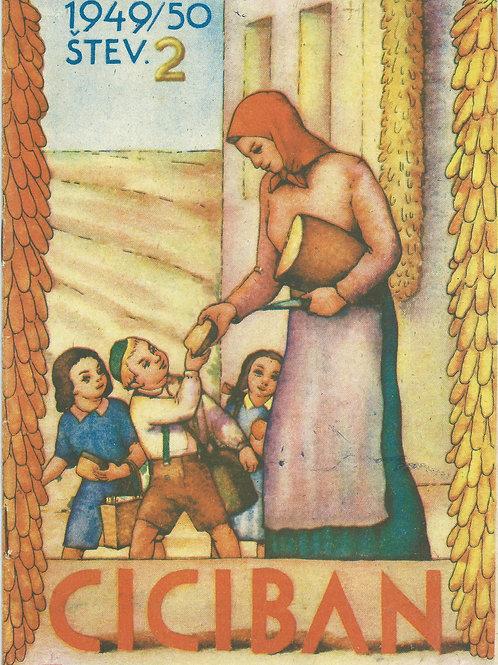 116. Ciciban, 1949/50, št. 2