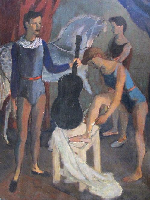 74// Maksim Sedej:  Artisti/Cirkusanti