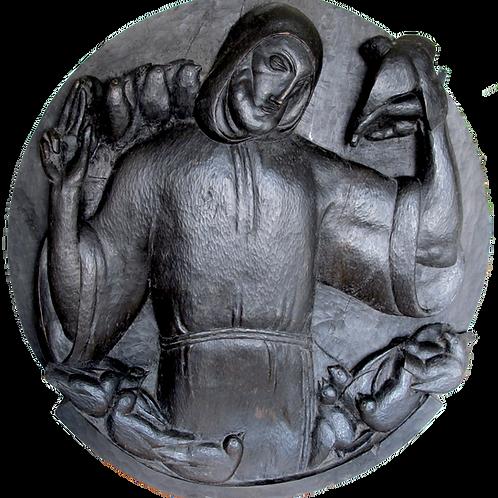 149// Tone Kralj:  Sveti Frančišek pridiga pticam