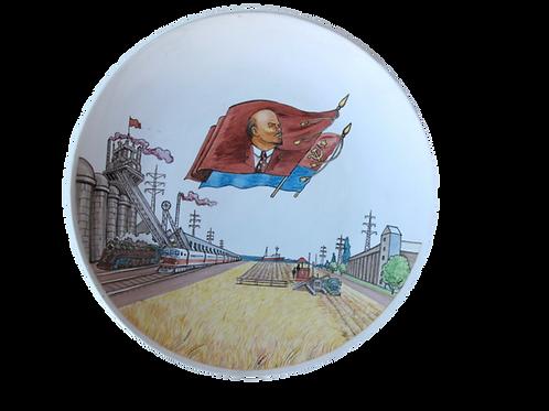 39// Svetla prihodnost - sovjetski propagandni krožnik