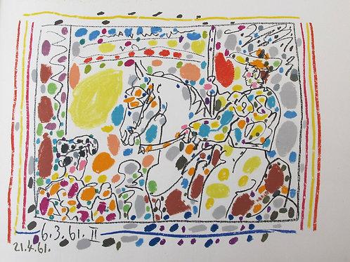 120//  Pablo Picasso in Jaime Sabartés:  A los Toros