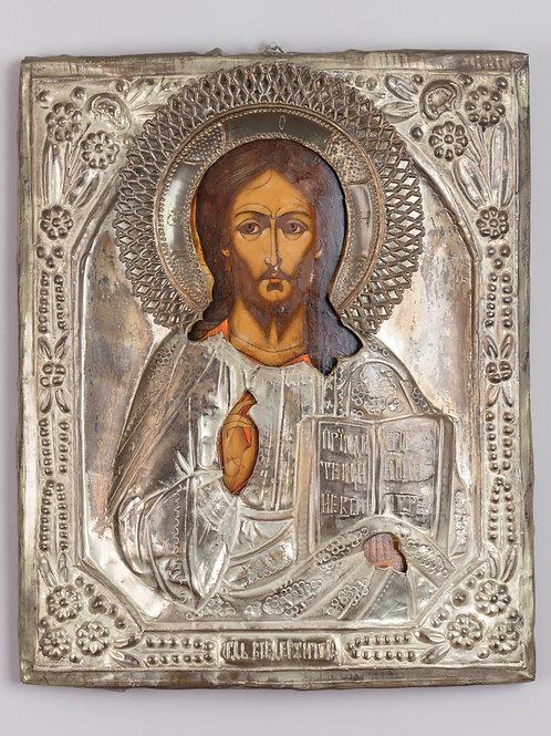 24. Ikona Kristusa v okladi