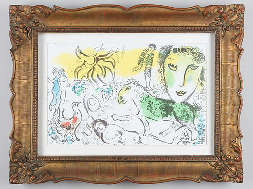134. Marc Chagall: Homecoming from XXe Siecle. Chagall Monumental
