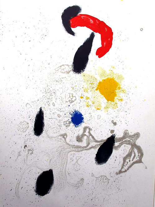 117// Joan Miró:  Grafika za revijo Derriére le Miroir