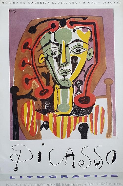 100. Zmago Rus: Picasso, Moderna galerija