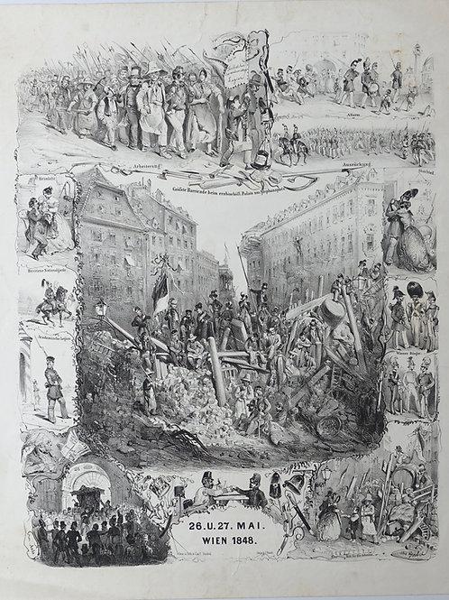 92. Carl Goebel: 26. in 27. maj, Dunaj 1848 (Pomlad narodov)