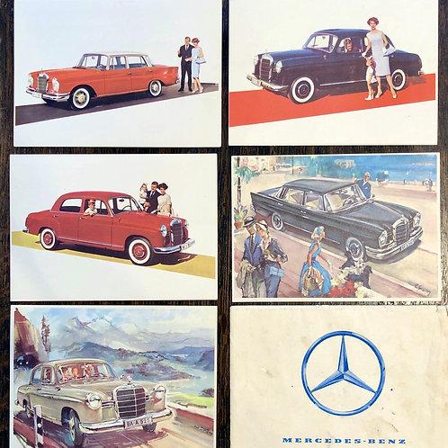 Mercedes-Benz: lot razglednic