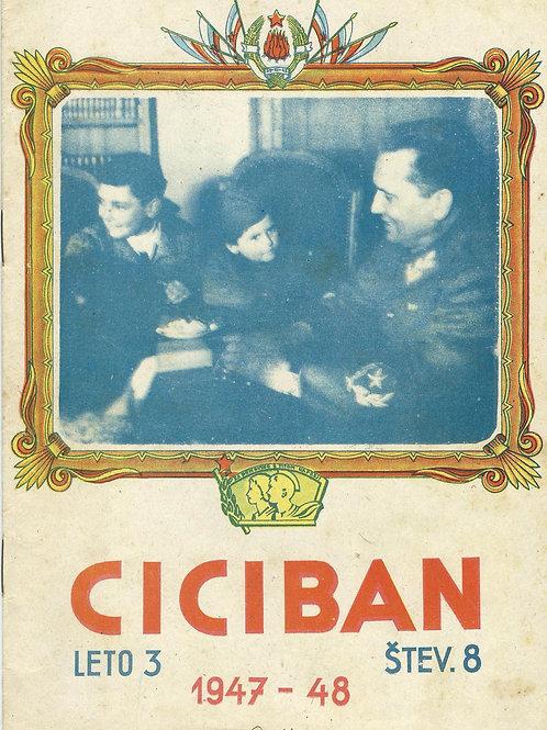 120. Ciciban, 1947/48, št. 8