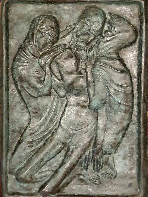 Ivan Meštrović: Snemanje s križa (Kristus, Marija in Marija Magdalena)