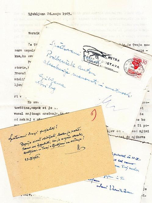 108// Ivan Vurnik in Anton Podbevšek : 17 pisem