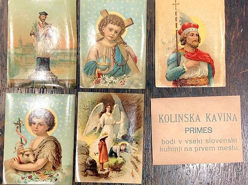 Reklamne sličice za Kolinska kavina primes