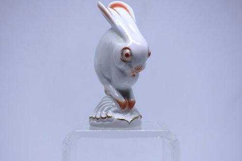 140. Meissen artdeco figurica zajca