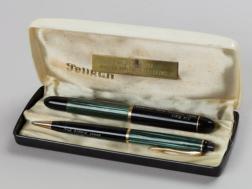 125. Pelikan - nalivnik in kemični svinčnik