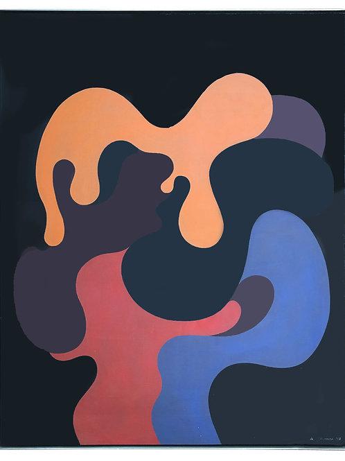 """Andrej Jemec: Dalla serie """"Compositione Universale"""", Variante 11"""