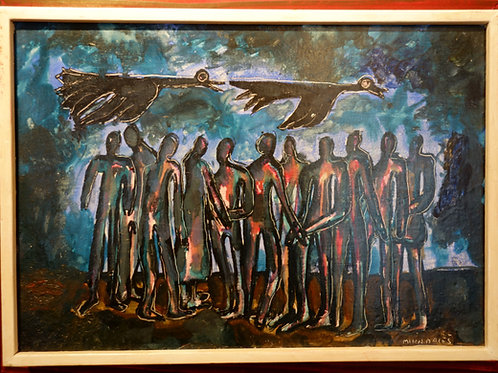 Miha Maleš, Nočne ptice