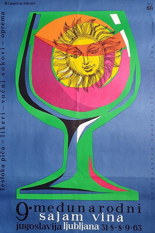 86. Nives Kalin: 9. međunarodni sajam vina Ljubljana