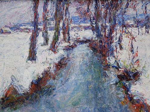 147. Fran Klemenčič: Zimska krajina