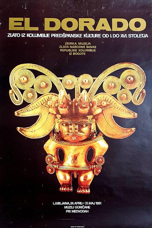 87. El Dorado, zlato Kolumbije