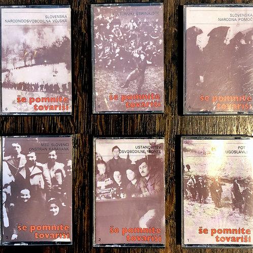 Serija 6 avdio-kaset: Še pomnite tovariši