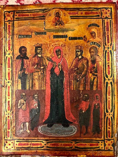 Marija in svetniki