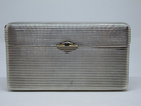 87// Louis Kuppenheim: Srebrna cigaretnica