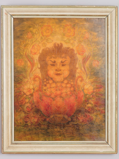 16. Jože Karlovšek: »Radegost« (staroslovansko jesensko božanstvo)