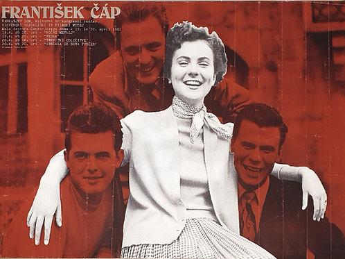 85. František Čap, plakat za retrospektivo njegovih filmov v Cankarjevem domu