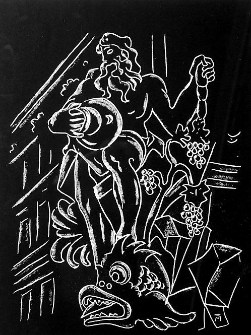 69. Miha Maleš: Motiv z Robbovega vodnjaka