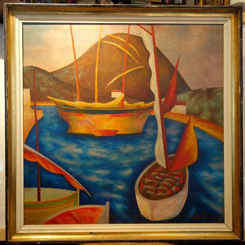 A. Berg, Zaliv z jadrnicami