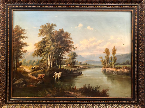 Neznani slikar: Romantična krajina