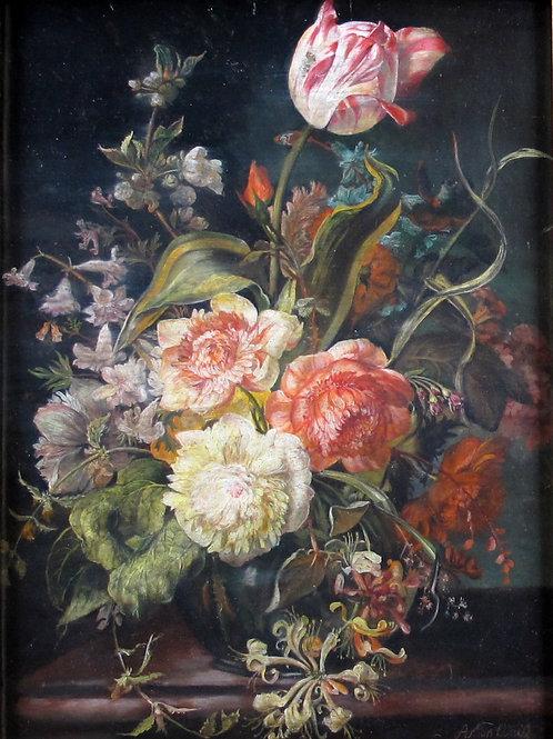 85// Anton Weiß:  Cvetlično tihožitje