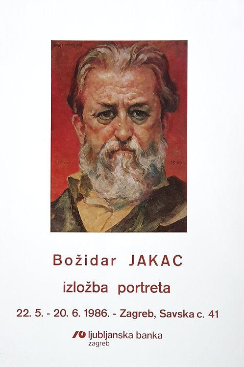 107. Božidar Jakac, Izložba portreta