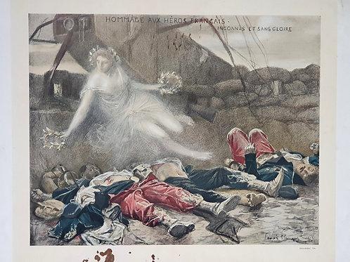 60. Propagandni plakat Francija I. svetovna vojna