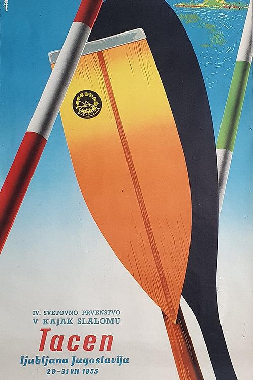90. IV. svetovno prvenstvo v kajak slalomu