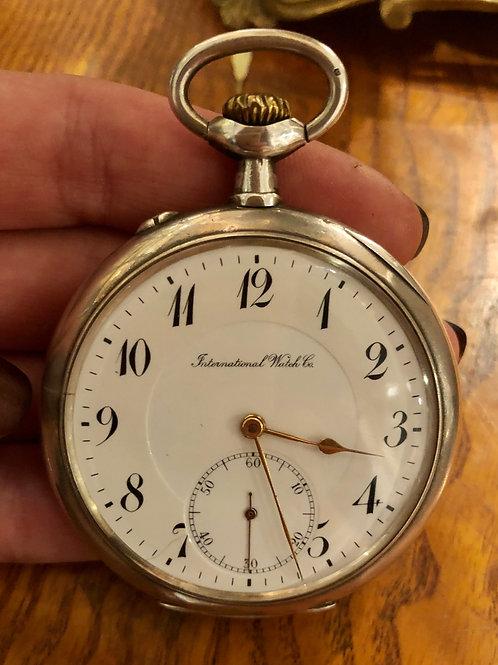Žepna ura IWC, ok. 1900 (srebro)